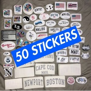 BRANDY MELVILLE STICKERS